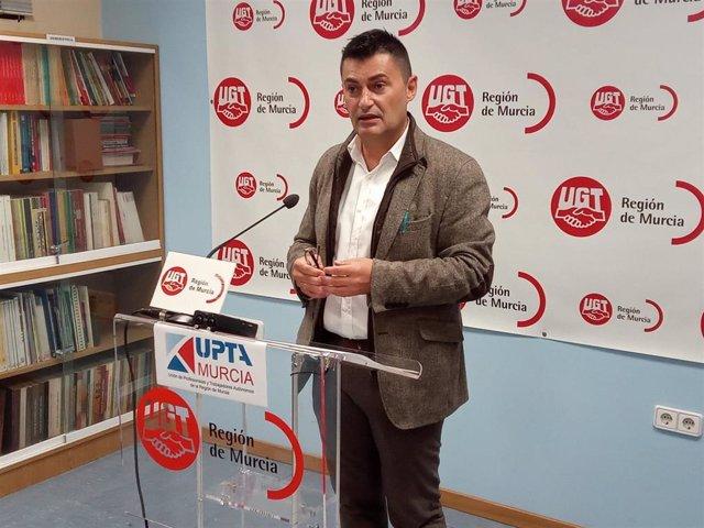 Archivo - El máximo responsable de la Unión de Profesionales y Trabajadores Autónomos (UPTA), Eduardo Abad Sabarís