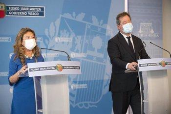 """Foto: Gobierno Vasco avisa de que el viernes podría adoptar medidas si se mantiene la """"ralentización"""" de la mejoría"""