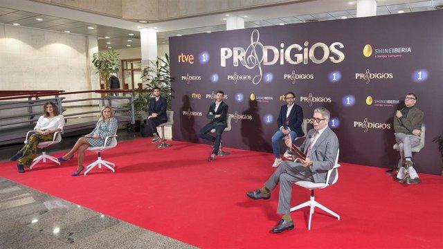 Presentación de la tercera edición de 'Prodigios'.