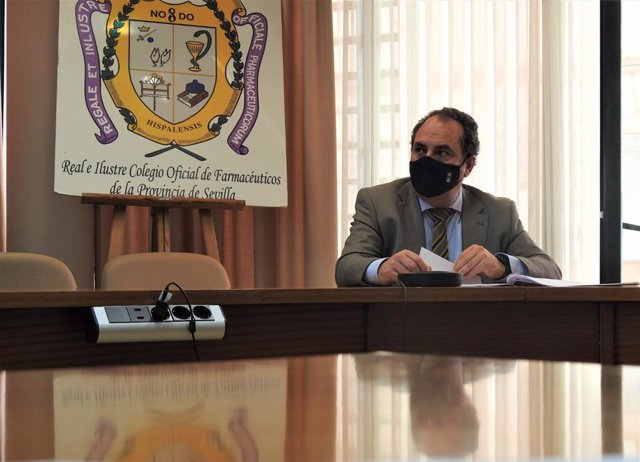 El delegado de Educación de Alcalá de Guadaíra, José Luis Rodríguez Sarrión (Cs).