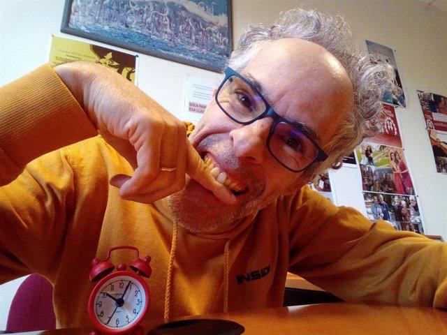 Carlos Felipe Martell, profesor titular del Departamento de Economía Aplicada y Métodos Cuantitativos de la Universidad de La Laguna