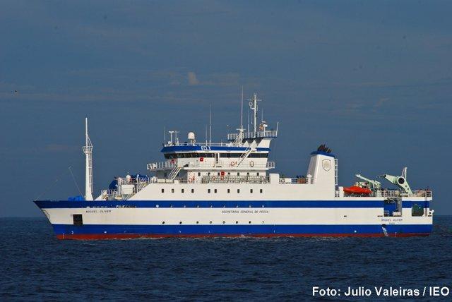 Archivo - El buque Miguel Oliver