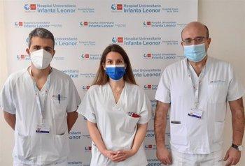 Foto: El Hospital Universitario Infanta Leonor coordina un ensayo clínico con heparina en pacientes con COVID-19
