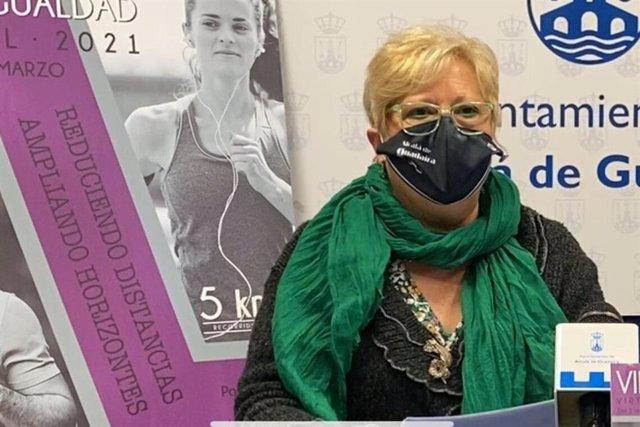 La delegada de Igualdad del Ayuntamiento de Alcalá de Guadaíra, Ana Vannereau.