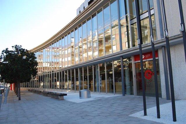 Sede de la Cámara de Comercio de Terrassa (Barcelona).