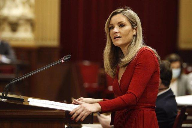 Archivo - La coordinadora y portavoz del Comité Autonómico de Ciudadanos Baleares, Patricia Guasp.