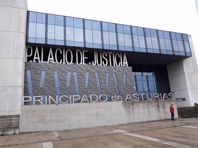 Archivo - Palacio de Justicia de Gijón