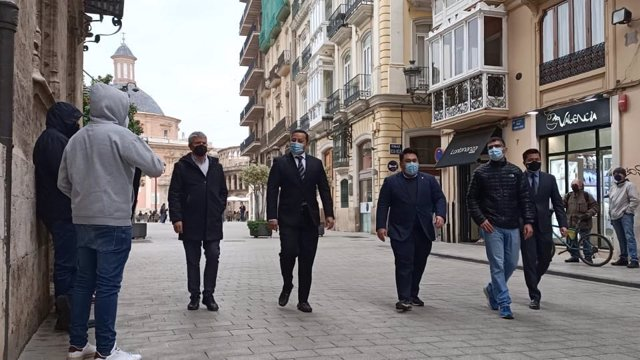 Anil Murthy llega al Palau de la Generalitat