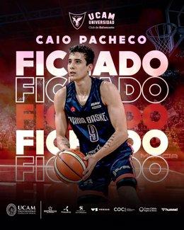Caio Pacheco, nuevo jugador del UCAM Murcia