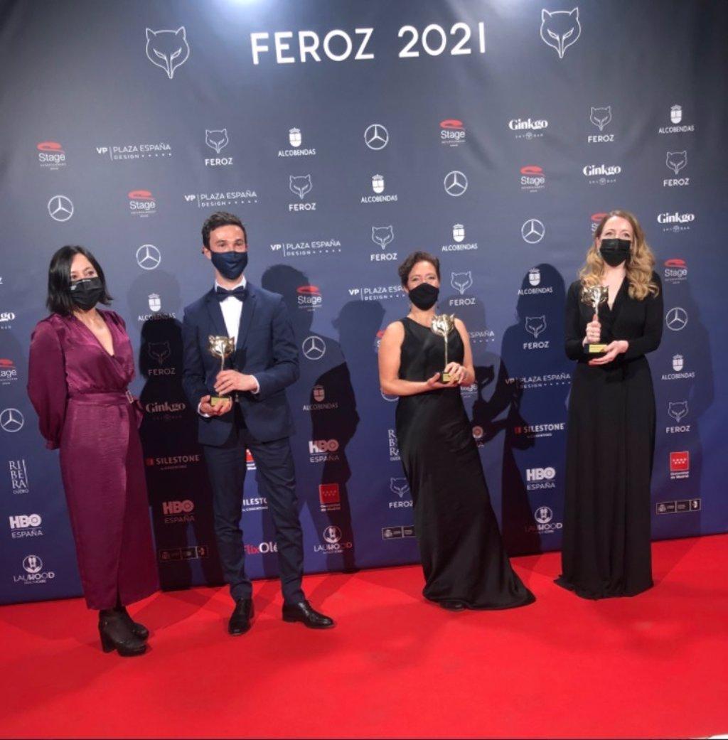 'Las Niñas' y 'Antidisturbios', triunfadoras de unos Premios Feroz con disculpas de Victoria Abril