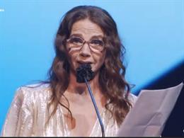 Victoria Abril recoge su Premio Feroz de Honor