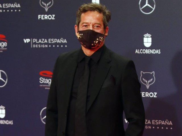 Jorge Sanz, en la alfombra roja de los Premios Feroz
