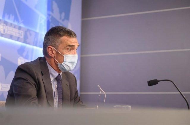 Archivo - El secretario general de Derechos Humanos, Convivencia y Cooperación del Gobierno Vasco, Jonan Fernández.