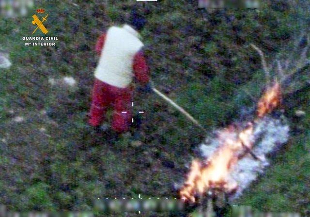Rdo. Nota De Prensa Guardia Civil (Investigados Por Incendios Forestales)