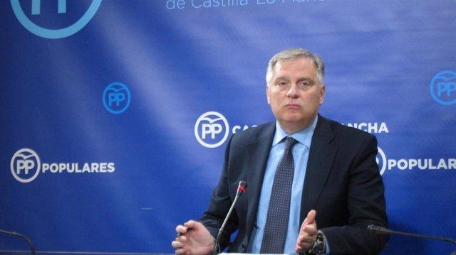 Francisco Cañizares, portavoz del Grupo Parlamentario Popular