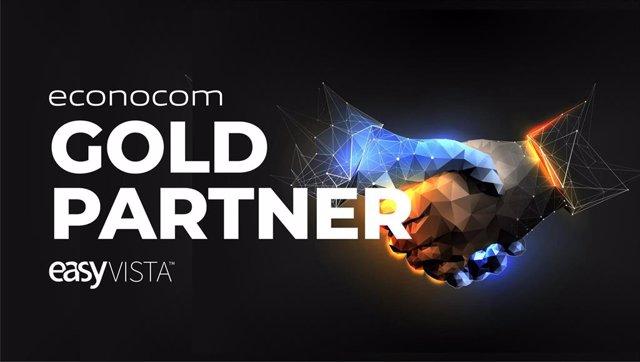 Grupo Econocom, único Gold Partner en España del fabricante de software EasyVista