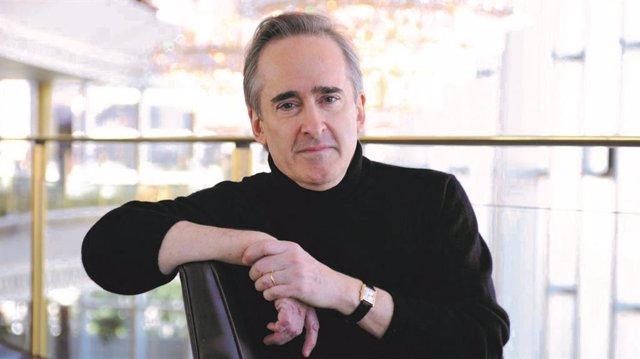 James Conlon, en el concierto de Abono 11 de la Oscyl la próxima semana con piezas de Brahms y Schumann.