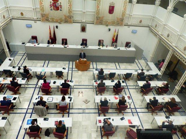 Comparecencia, a petición del Grupo Parlamentario Socialista, de Juan José Pedreño, consejero de Salud, para informar sobre estrategia, protocolos y calendario en el proceso de vacunación de la covid-19 en la Región