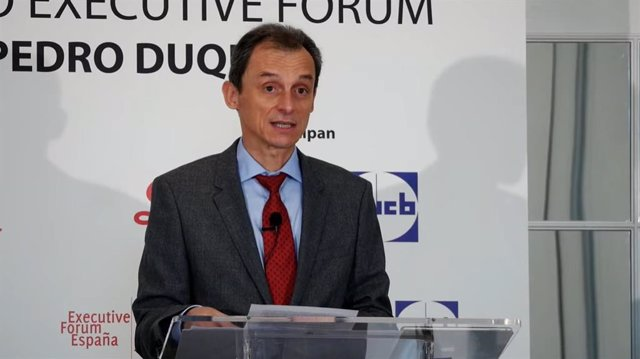 Coloquio online de Executive Forum con el ministro de Ciencia e Innovación, Pedro Duque