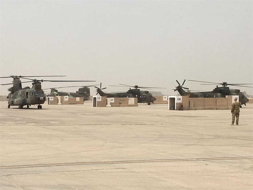 Los militares españoles en Irak, ilesos tras un ataque con misiles a su base