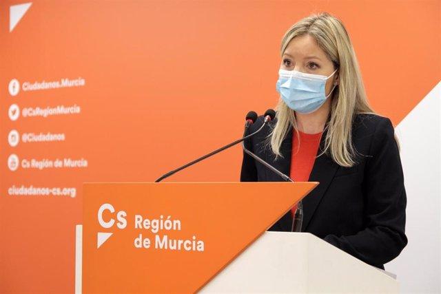 Archivo - La coordinadora regional de Ciudadanos, Ana Martínez Vidal