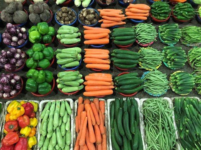 Archivo - Verduras y hortalizas de huerta de proximidad