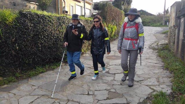 Fundación ONCE presenta su proyecto para hacer más accesible el Camino Francés de Santiago