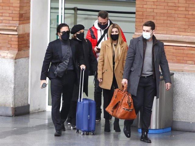 David Bustamante, Chenoa, Natalia y Manu Tenorio, muy afectados tras la muerte de Álex Casademunt