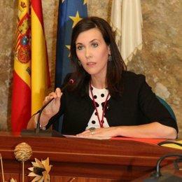 La presidenta de la Comisión de Empleo de la FAMP y alcaldesa de Monturque (Córdoba), Teresa Romero, en una imagen de archivo.