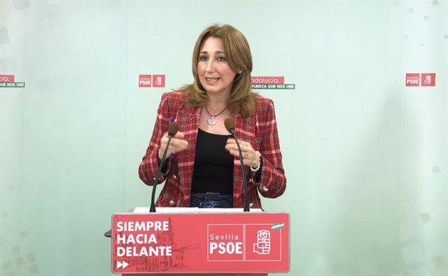 La parlamentaria andaluza y miembro de la Ejecutiva del PSOE de Sevilla Carmen Dolores Velasco