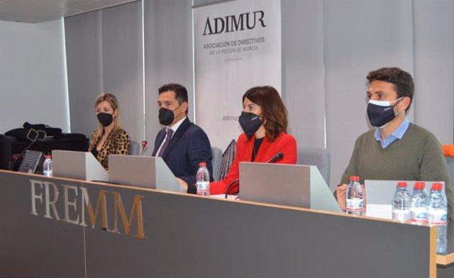 Imagen de la presentación del estudio de Adimur