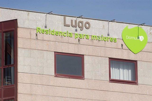 Archivo - Fachada de la residencia de mayores DomusVi de Outeiro de Rei en Lugo.