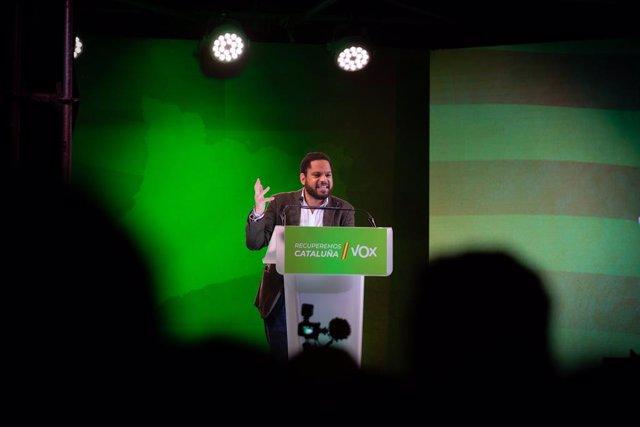 El candidat de la formació a la presidència de la Generalitat, Ignacio Garriga (Arxiu)