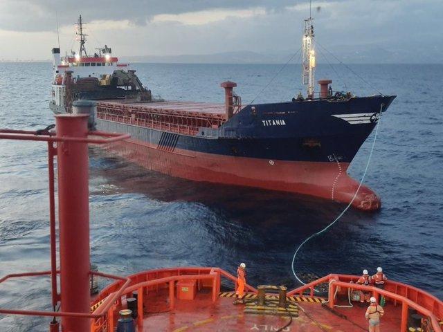 Rescate de Salvamento Marítimo al 'Titania'