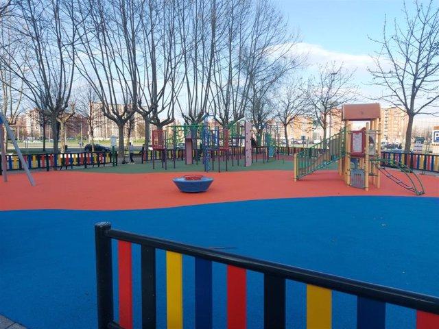 Parque de Zubitxueta renovado.