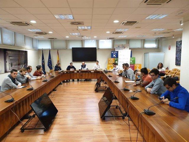 Imagen de una reunión del Consejo de Deportistas del Comité Paralímpico Español
