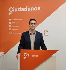 El portavoz de lCs en la DPT, Ramón Fuertes