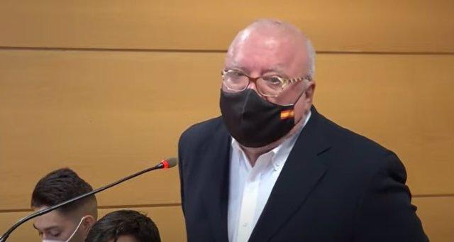 Archivo - Judici contra el comissari jubilat i en presó provisional José Manuel Villarejo per presumptes delictes de calúmnies i denúncia falsa contra l'exdirector del Centre Nacional d'Intel·ligència (CNI) Félix Sanz Roldán.