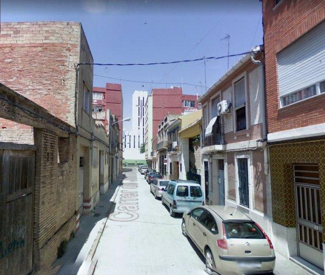 Calle Jaume Balmes de Massanassa