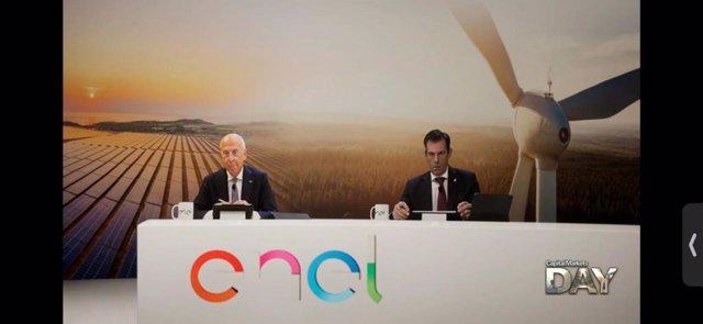 Archivo - Enel celebra su Capital Markets Day