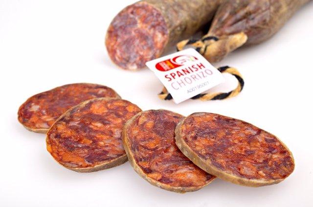 Archivo - El Consorcio del Chorizo Español supera los 7 millones de kilos vendidos en desde su creación en 2015.