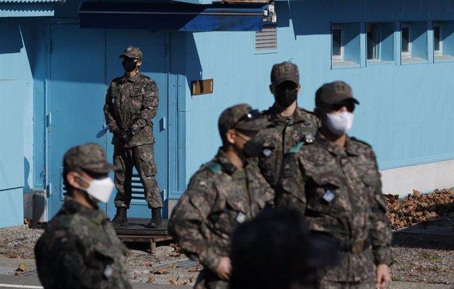 Militares de Corea del Sur.