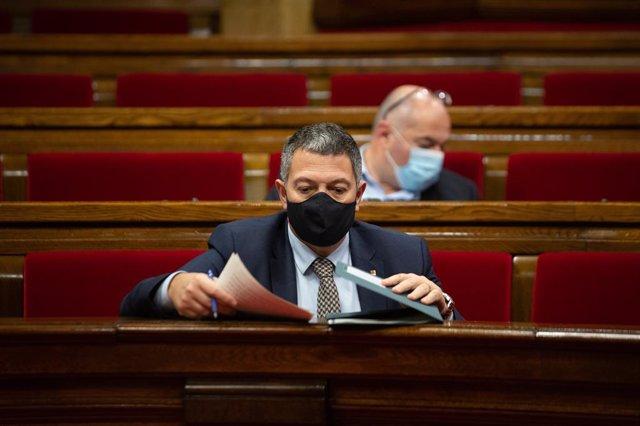 El conseller d'Interior de la Generalitat, Miquel Sàmper