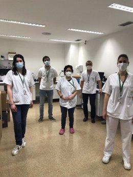 Científicos del centro de investigación ibs.Granada