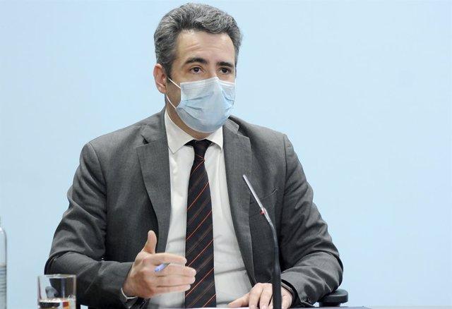 El ministre Portaveu d'Andorra, Eric Jover