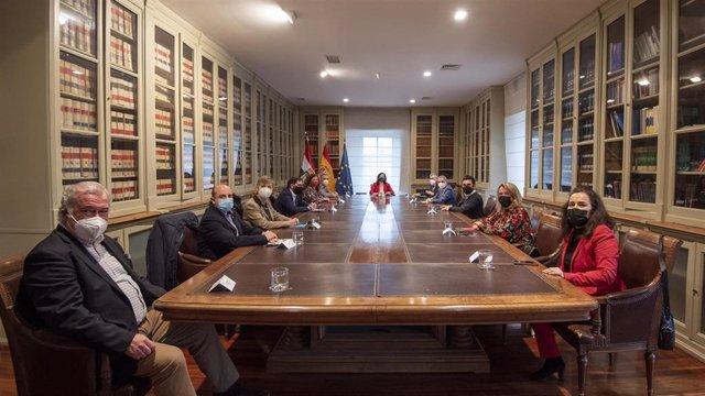 Reunión Diálogo Social presidida por Andreu