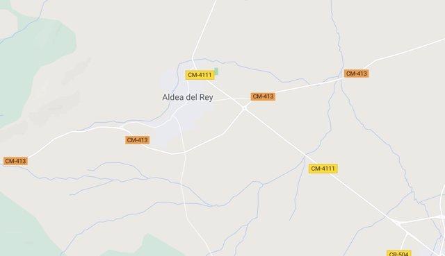 Imagen de Aldea del Rey en Google Maps