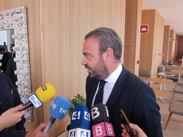 Archivo - El presidente de Meliá, Gabriel Escarrer.