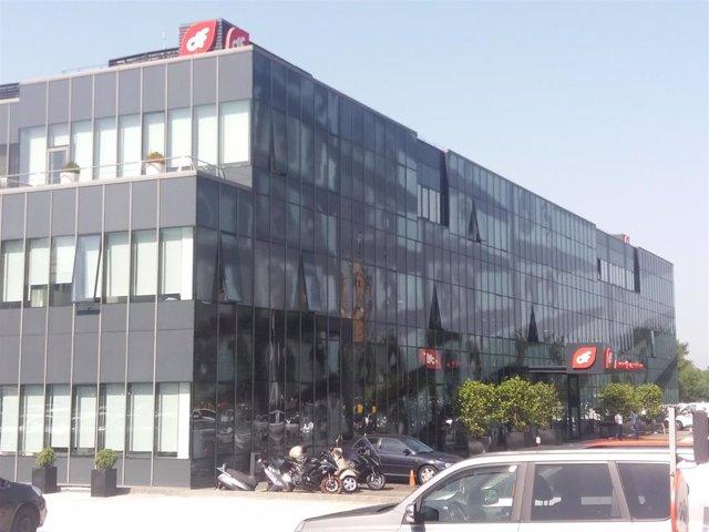 Archivo - Sede de Duro Felguera en Gijón.