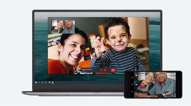 La app de escritorio de WhatsApp incorpora las llamadas y videollamadas entre dos usuarios